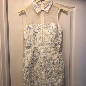 ASOS Mesh Insert Dress